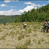 Riding on the Colorado Trail from Kenosha Pass to Breckenridge