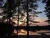 Lake Verevi sunset. Elva, Estonia August 2013