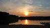 Lake Verevi sunset. Elva, Estonia Augus 2013.