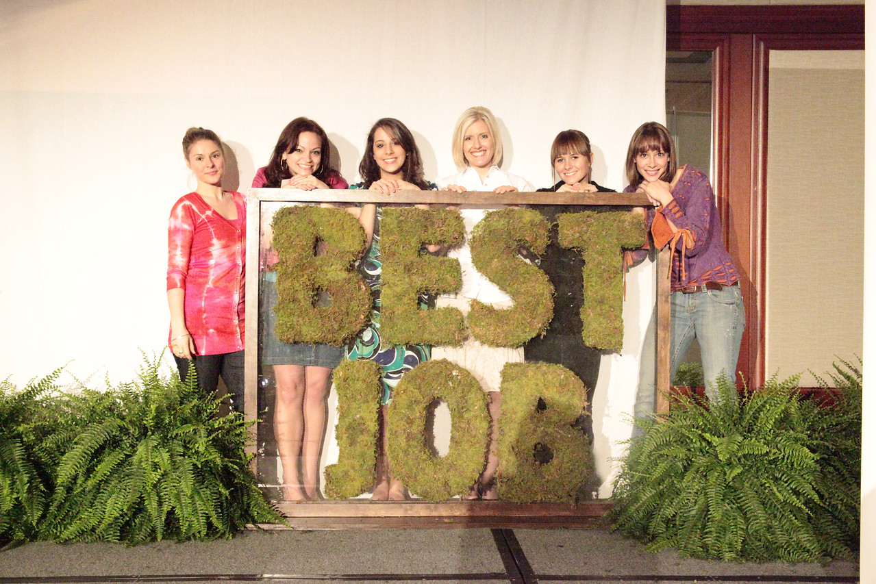 """6 of the Top 50 """"Best Job in the World"""" Candidates :: From Left to Right - Marcella, Angie, Sandi, Melissa, Hailey, Cali"""