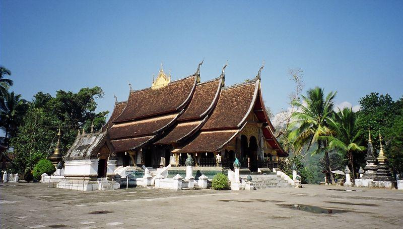 Wat Xieng Thong, Lunag Prabang, Laos