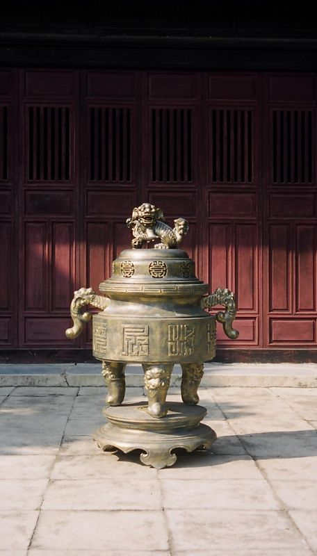 Old Jar, Imperial City, Hue, Vietnam.