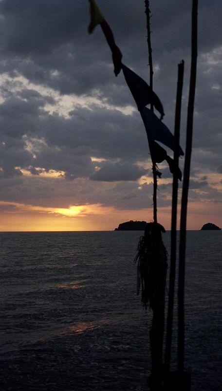 Sunset Koh Chang.