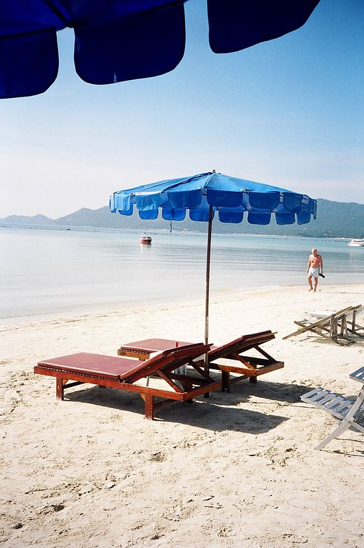 Chaweng Beach, Koh Samui.  I spent my birthday here.