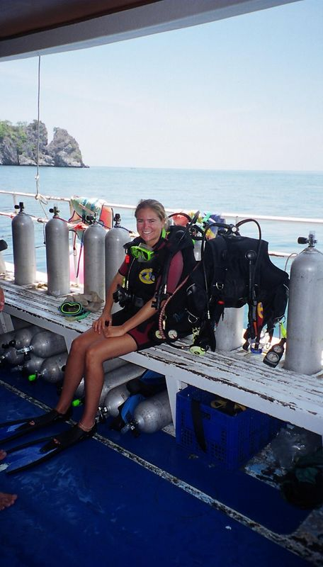 Me ready to dive, Krabi
