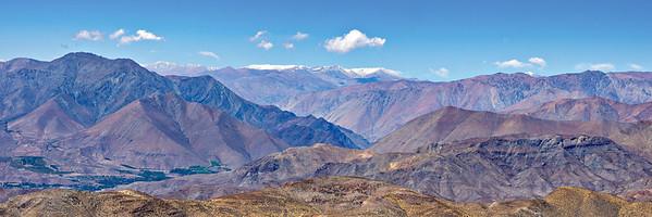 Chilean Andes from Cerro Tolo InterAmerican Observcatory