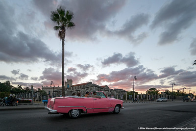 Sunset on the Malecon, Havana