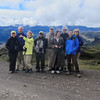 At the Papallacta Pass (14,000 ft), Eleanor, Charles, Elizabeth, Edwin, Bill, Janice, Jane, John and Patsy.