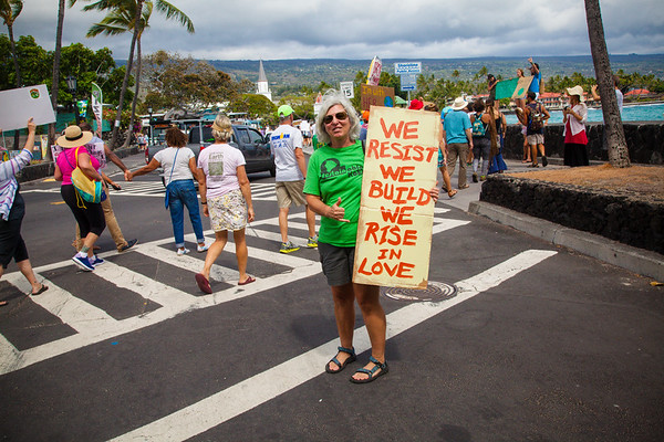 Best of Hawaii - Climate Change Rally Pictures