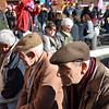 Happy retired Italians at the Piazza Novona