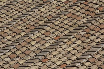 Vatican Roof tiles