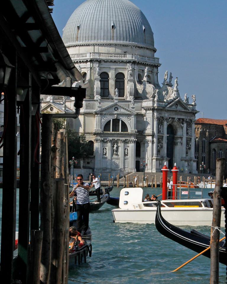 Santa Maria della Salute, city of Venice.