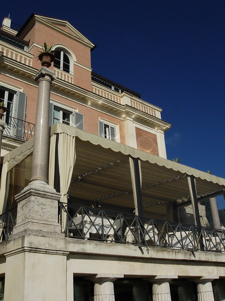 Casina Valdier in Rome<br /> Overlooking the Spanish Steps...Nice dinner in this room