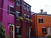Burano, near Venice noted for lace<br /> Residents can not change the color of their house
