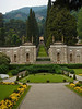 Gardens from Lakeside at Villa D'Este on Como