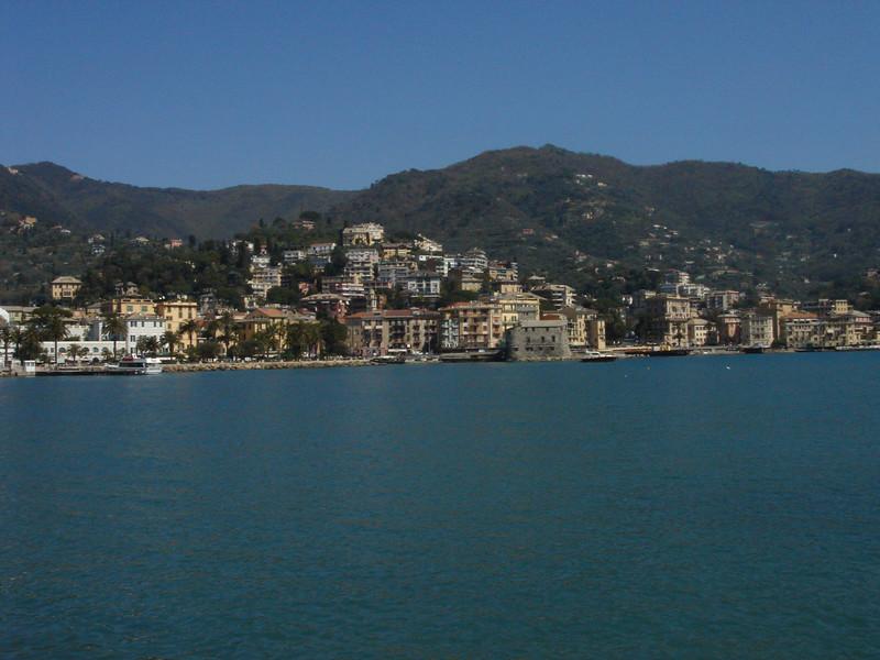 Bellagio at the fork on Lake Como