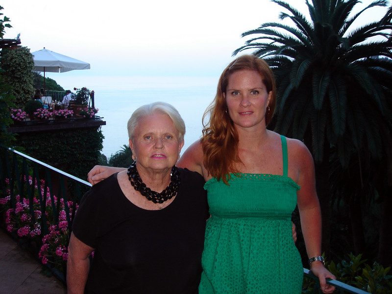 Sloane and Rosie at Hotel Splendido in Portofino