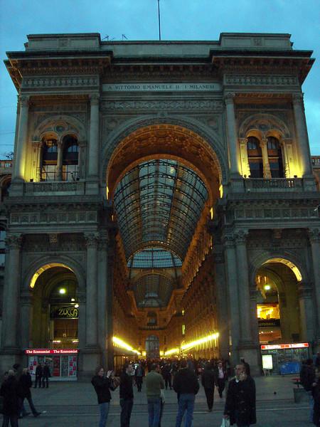 Galleria at Milano Duoma