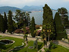 Isola Bella garden looking North on Lake Maggiore