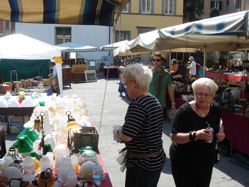 Lucca Antique market/street fair