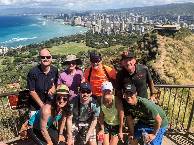 Diamond Head Lookout,Honolulu, Hawaii