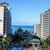 View from the Embassy Suites Hotel, Waikiki, Honolulu, HI.