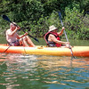 Enjoying the 'Anahulu River near Tsue's Farm, Haleiwa, HI