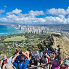 Diamond Head hike, Waikiki, Honolulu, HI.