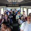 On the tour bus, leaving Tsue's Farm, Haleiwa, HI