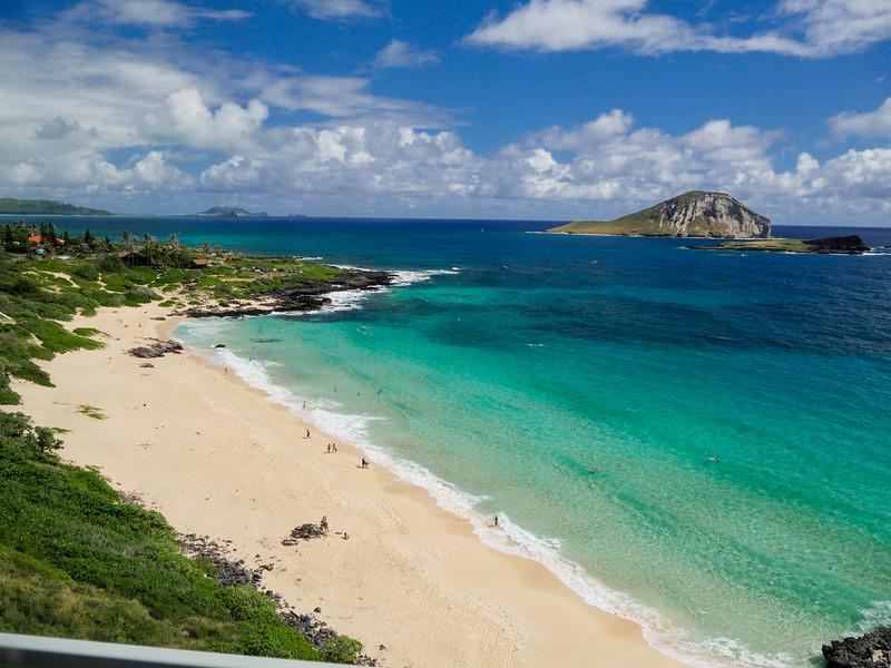Halana blowhole lookout view, Honolulu, HI