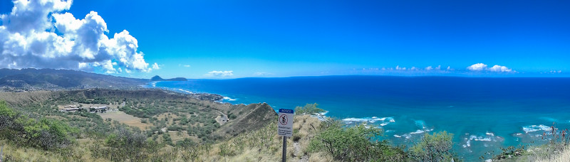 Diamond Head hike, Waikiki, Honolulu, HI.