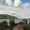 Urquhart Castle on the Loch Ness