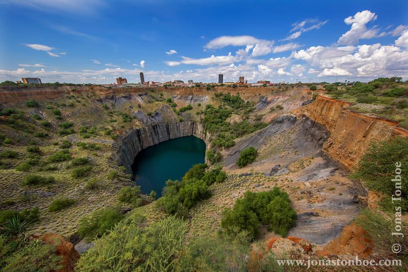 The Big Hole aka Kimberley Diamond Mine