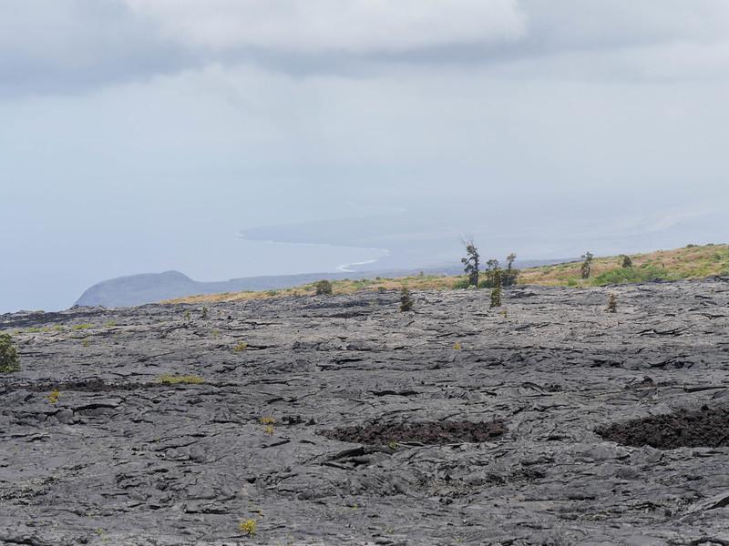 Keauhou trail head, Volcano National Park.