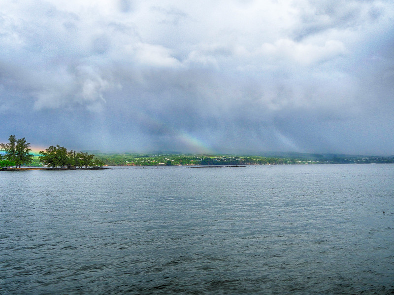 Triple rainbow,  Hilo, HI  t