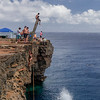 Hawaii South Point (Ka Lae) Cliff jump.