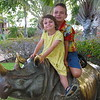 Riding the Rhino at Hilton Waikokoa, Waikaloa Village, HI