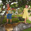 Hanging ten on the Rhino at Hilton Waikokoa, Waikaloa Village, HI