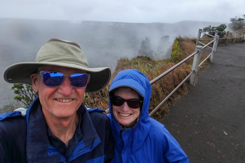 Kilauea Iki Crater, Volcano National Park.