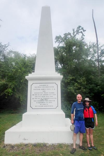 Captain Cook Monument,  Kealakekua Bay, Kealakekua, HI