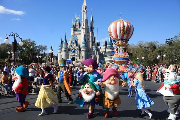 Disney Magic world , Florida ; March 2016