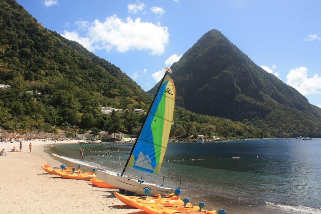 St Lucia ; Feb 2013