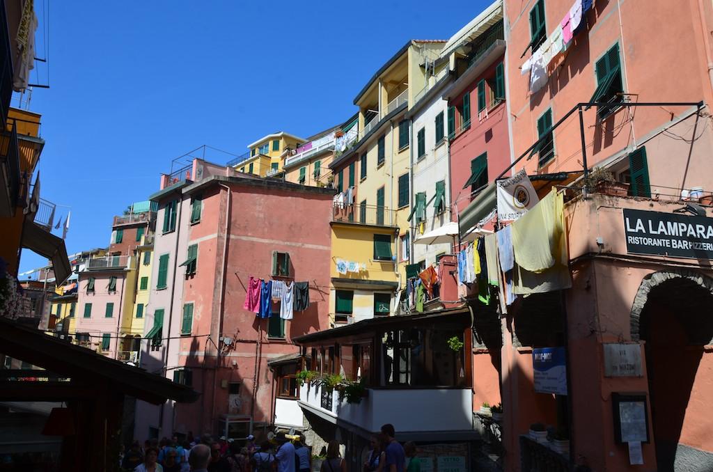 Cinque Terre Italy ; July 2012