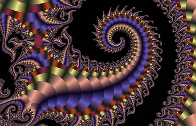 Conch fractal - eight sold soon after the image was released, the first for $80