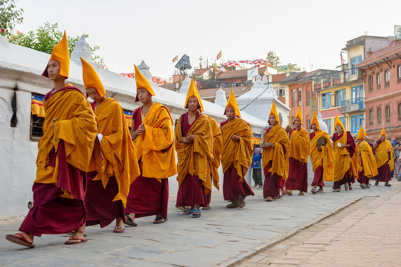 Monk on Parade
