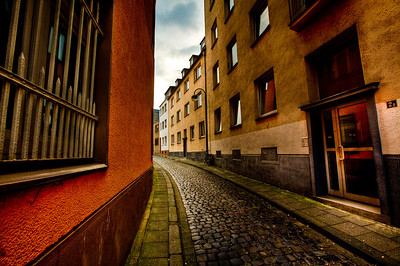 Down a small side street in Cologne.