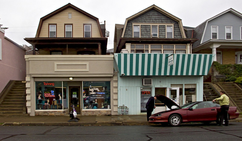 Store Fronts, Easton, PA 2008