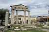 In the ancient Roman Agora