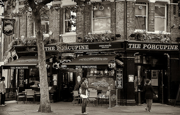 The Porcupine, Charing Cross, London