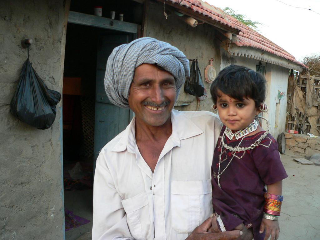 The Harijan-Vyas village